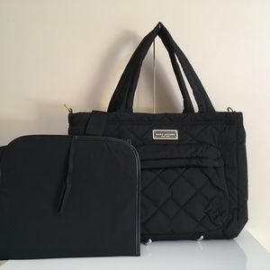 Marc Jacobs Quilted Nylon Baby Bag & Changing Pad